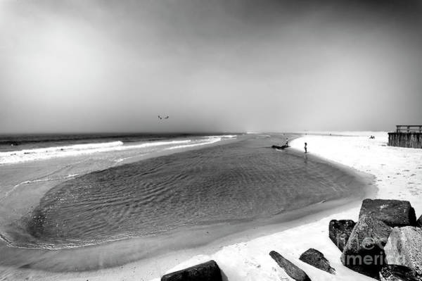 Photograph - On The Beach At Long Beach Island by John Rizzuto
