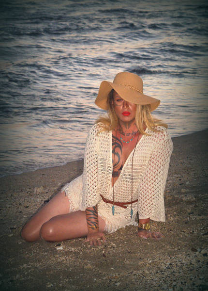 Bisexual Photograph - On The Beach by Lori Seaman