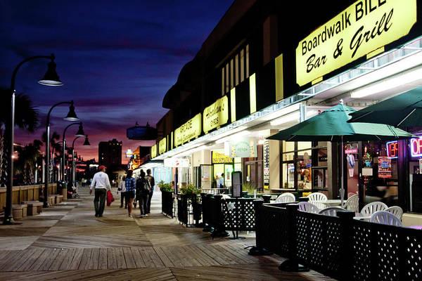 Photograph - On The Boardwalk by Ree Reid