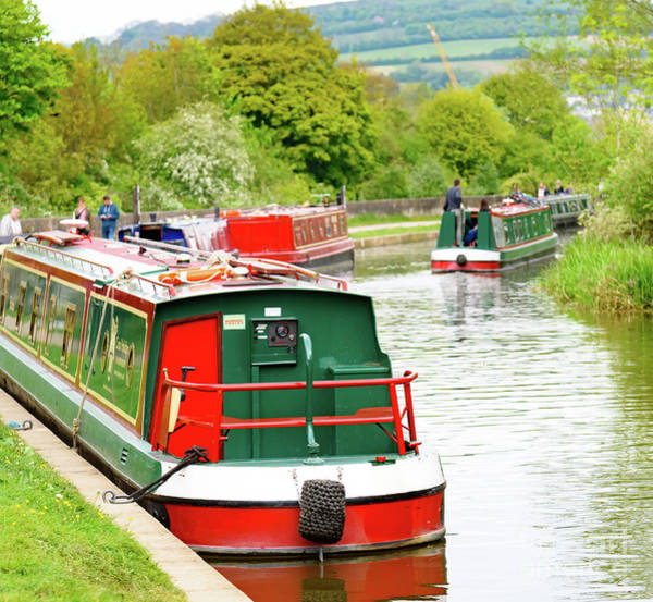 Photograph - On The Canal by Colin Rayner