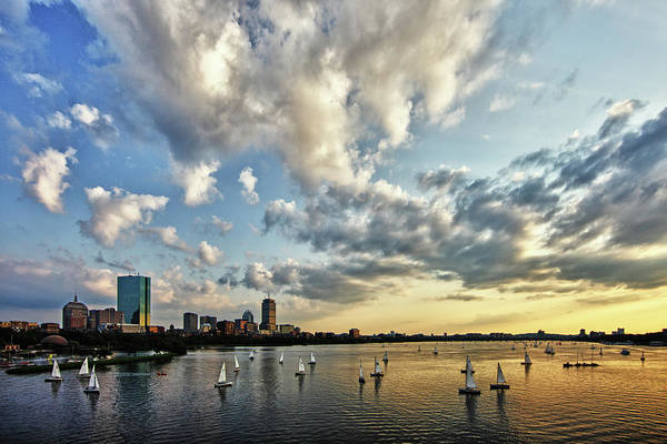 Berk Wall Art - Photograph - On The Charles II by Rick Berk