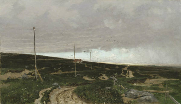 Painting - On The Coast. Motif From Jaeren, Norway by Frits Thaulow