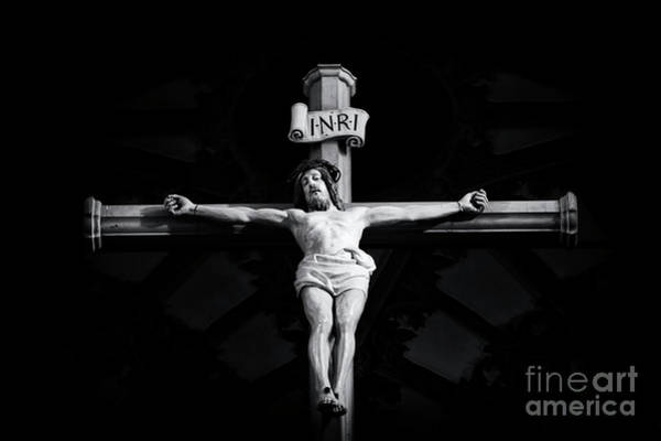 Holy Spirit Photograph - On The Cross by Tim Gainey