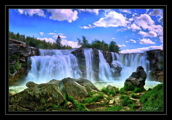 Wall Art - Photograph - On The Crowsnest River by Brenda D Busskohl