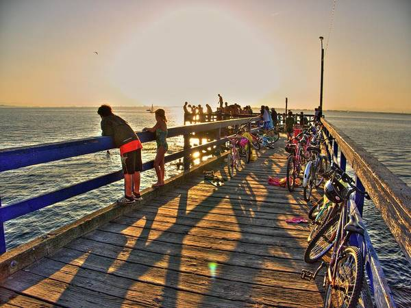 Photograph - On The Dock 0 by Lawrence Christopher