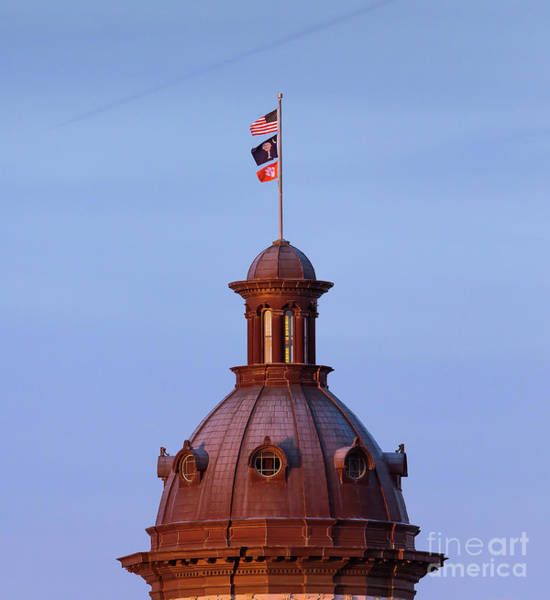 Photograph - On The Dome-1 by Charles Hite