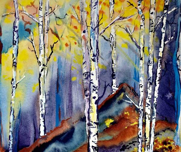 Painting - On The Edge by Beverley Harper Tinsley