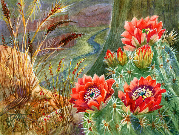 Painting - On The Edge by Marilyn Smith