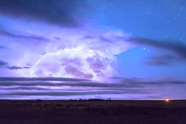 Photograph - On The Edge Of A Storm by James BO Insogna