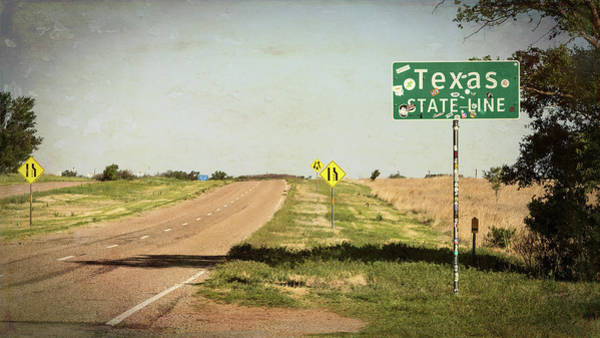 Wall Art - Photograph - On The Edge Of Paradise - Texas Route 66 by Stephen Stookey