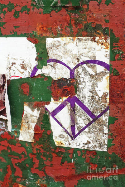 Peace Sign Mixed Media - Peace And Destruction by Sharon Eng