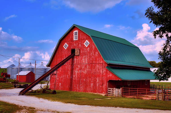 Feedlot Photograph - On The Farm In Iowa by Mountain Dreams