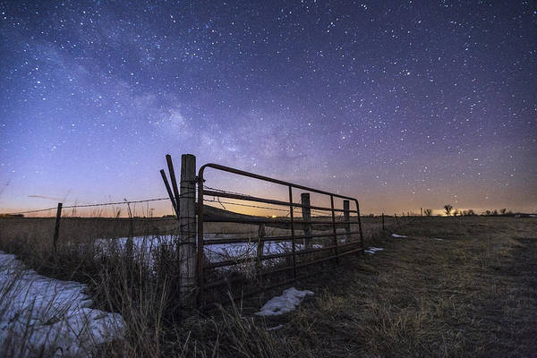Photograph - On The Fence  by Aaron J Groen