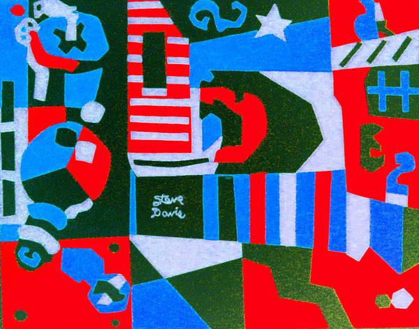 On The Green Art Print by Stephen Davis