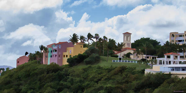 Photograph - On The Hill Puerto Rico by Roberta Byram