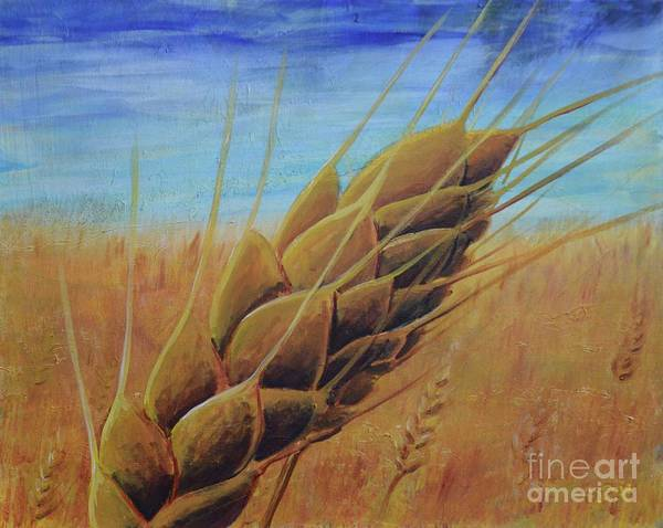 Painting - On The Kanza by Lisa DuBois