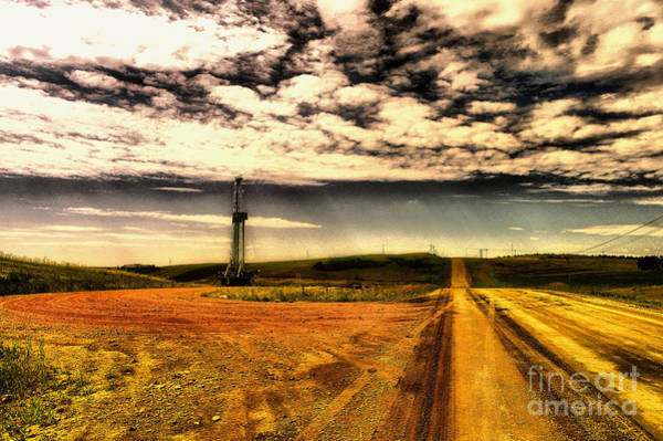 Wall Art - Photograph - On The Lease Road by Jeff Swan