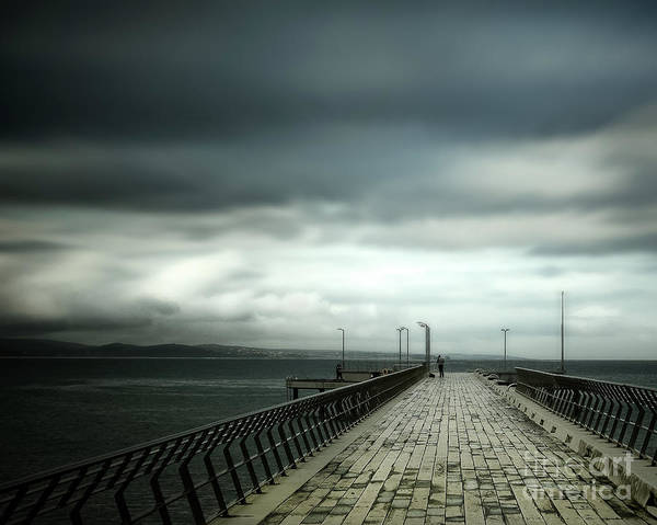 Wall Art - Photograph - On The Pier by Perry Webster