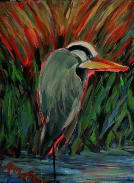 Wall Art - Painting - On The Prowl by Ann Lutz