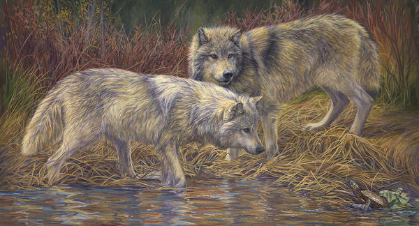Painting - On The Prowl by Lucie Bilodeau