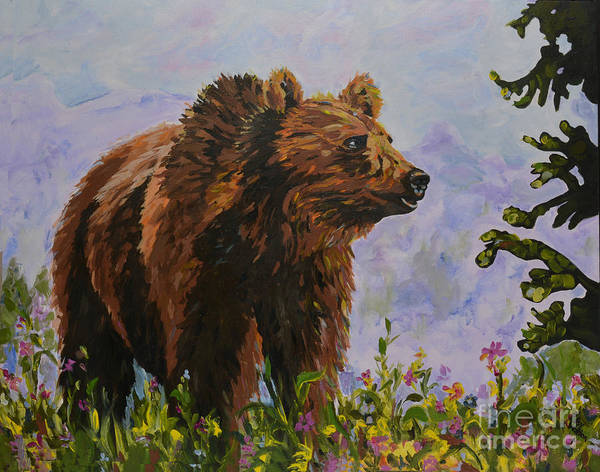 Painting - On The Prowl by Patsy Walton