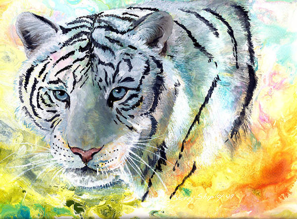 Painting - On The Prowl by Sherry Shipley