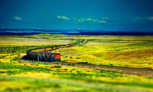 Montain Photograph - On The Rails by Russ Harris