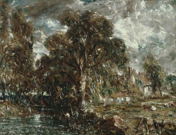 Painting - On The River Stour by John Constable