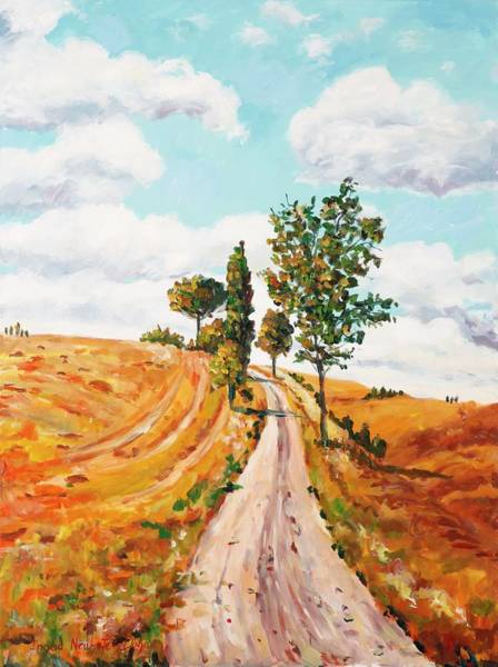 Painting - On The Road To . . . . by Ingrid Dohm