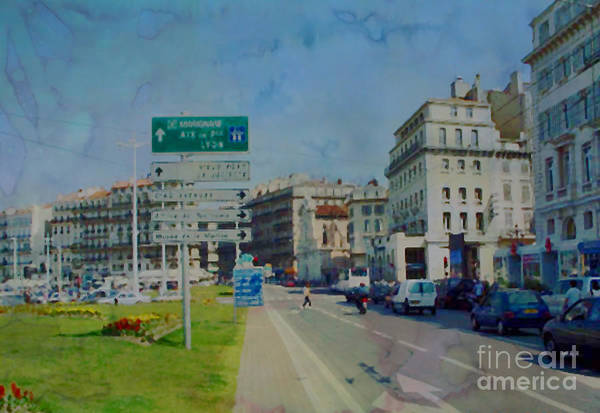 Photograph - On The Road To Aix by Paulette B Wright