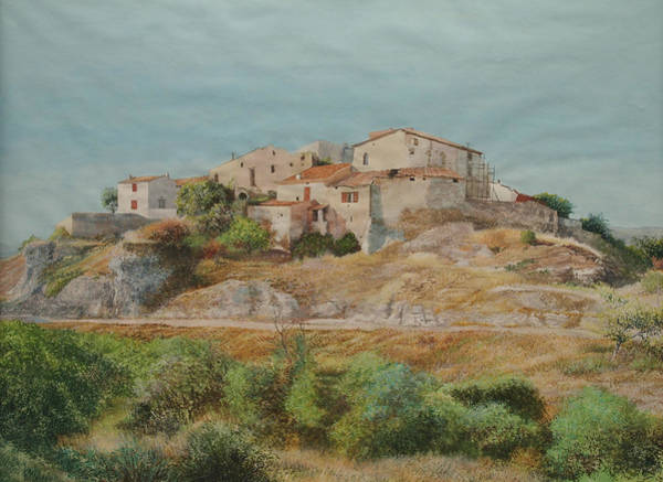 Painting - On The Road To Manosque II by E Colin Williams ARCA