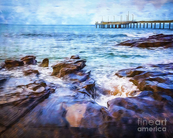 Wall Art - Photograph - On The Rocks by Perry Webster