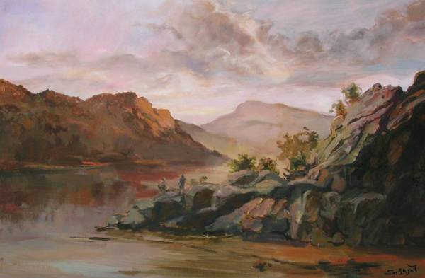 Painting - On The Rocks by Tigran Ghulyan