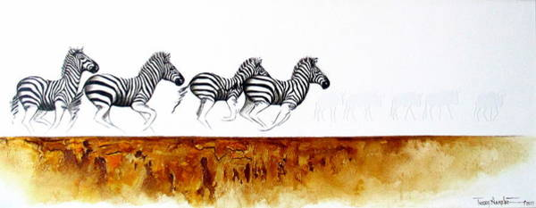 Painting - On The Run by Tracey Armstrong