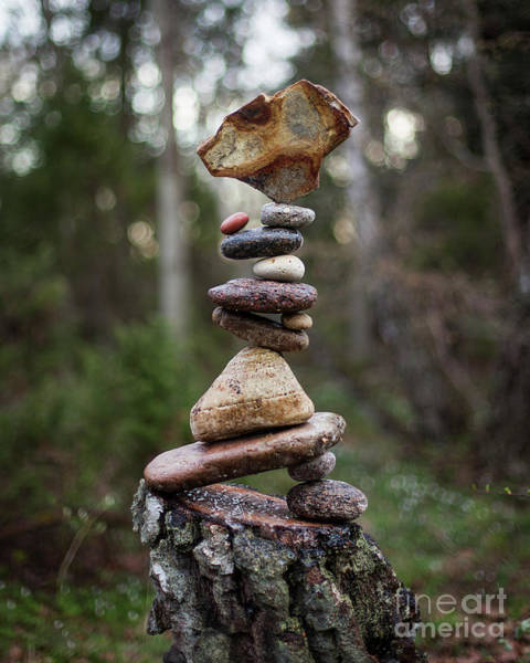 Sculpture - On The Stump by Pontus Jansson