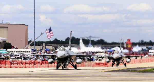 Photograph - On The Taxiway by Charles Hite