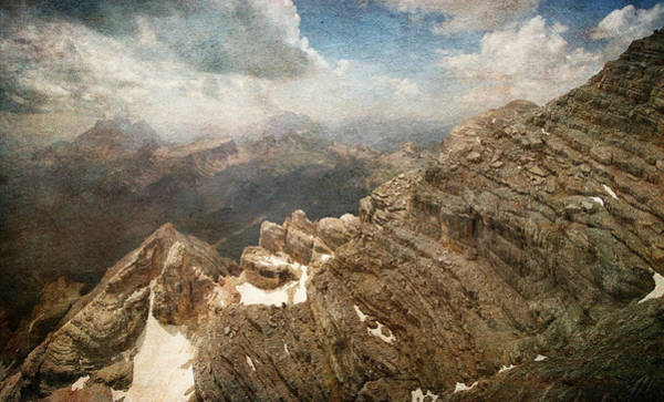 Photograph - On The Top Of The Mountain  by Vittorio Chiampan