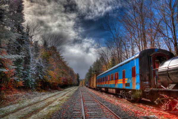 Photograph - On The Tracks But Out Of Commission by David Patterson