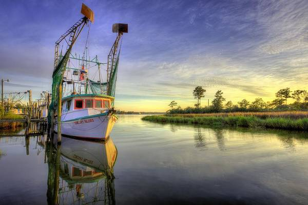 Photograph - On The Water In Bon Secour by JC Findley