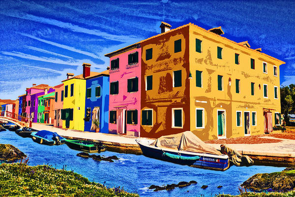 Digital Art - On The Waterfront by Ruth Moratz