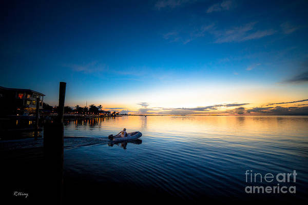 Wall Art - Photograph - The Tender On His Way Home by Rene Triay Photography