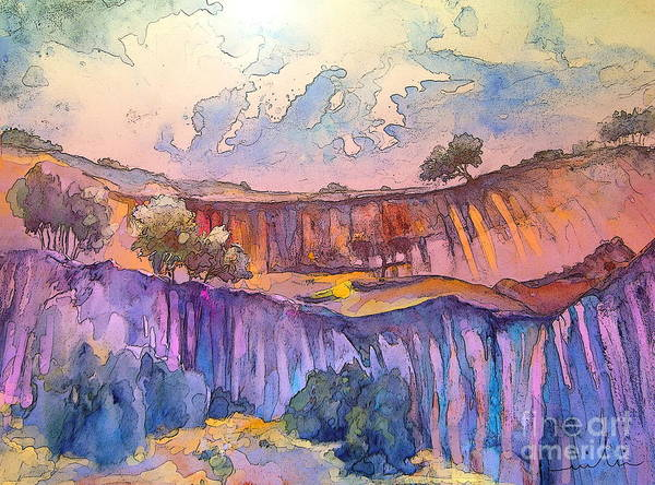 Painting - On The Way To Cazorla 03 by Miki De Goodaboom