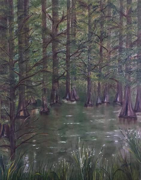 Wall Art - Painting - On The Way To French Settlement by Judy Jones
