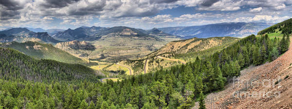Photograph - On The Way To Yellowstone by Adam Jewell