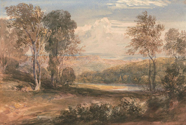 Painting - On The Wye by David Cox