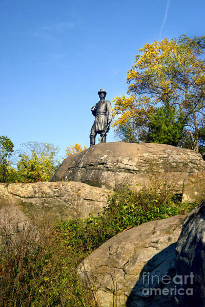 Wall Art - Photograph - On Top Of Little Roundtop by Paul W Faust - Impressions of Light