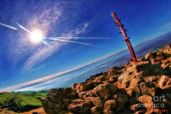 Photograph - On Top Of Mission Peak Fremont  by Blake Richards