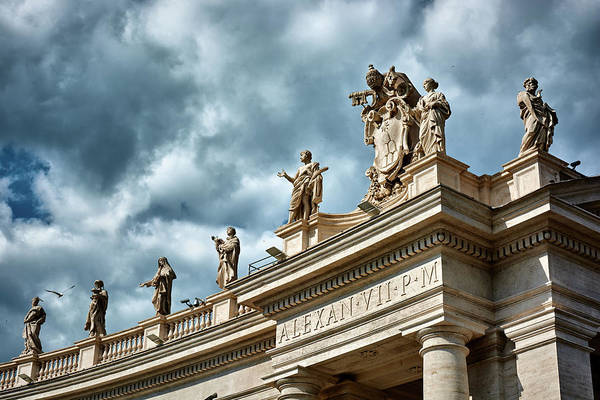 Photograph - On Top Of The Tuscan Colonnades by Fine Art Photography Prints By Eduardo Accorinti