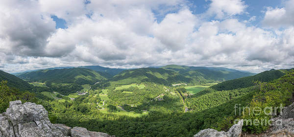 Photograph - On Top Seneca Rocks Panorama  by Michael Ver Sprill