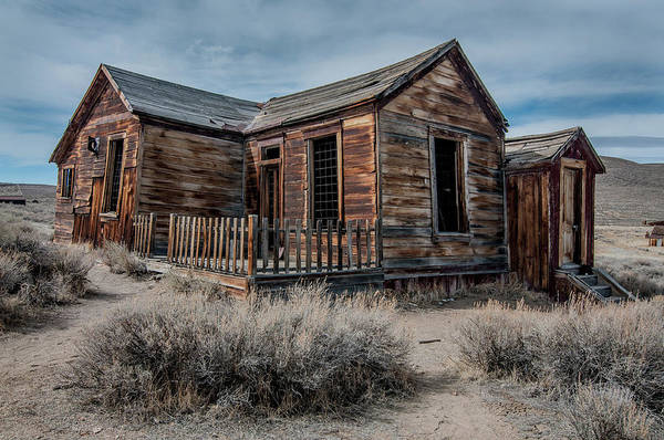 Bodie Photograph - Once A Home by Ralph Vazquez